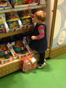 Hamley's shelves
