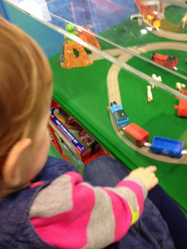 Hamley's train set