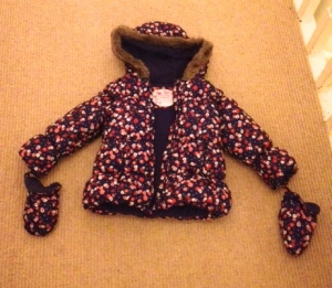 M&S toddler girls coat 2013