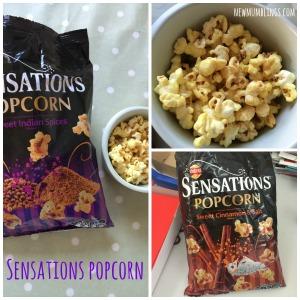 Sensations Popcorn collage