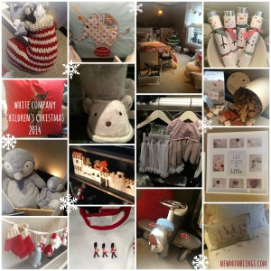 White Company Children's Christmas 2014 Collage