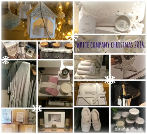 White Company Christmas 2014 Collage