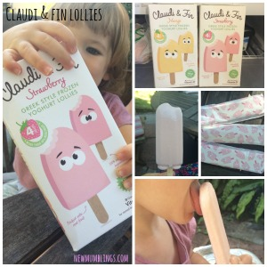 Claudi & Fin Lollies collage