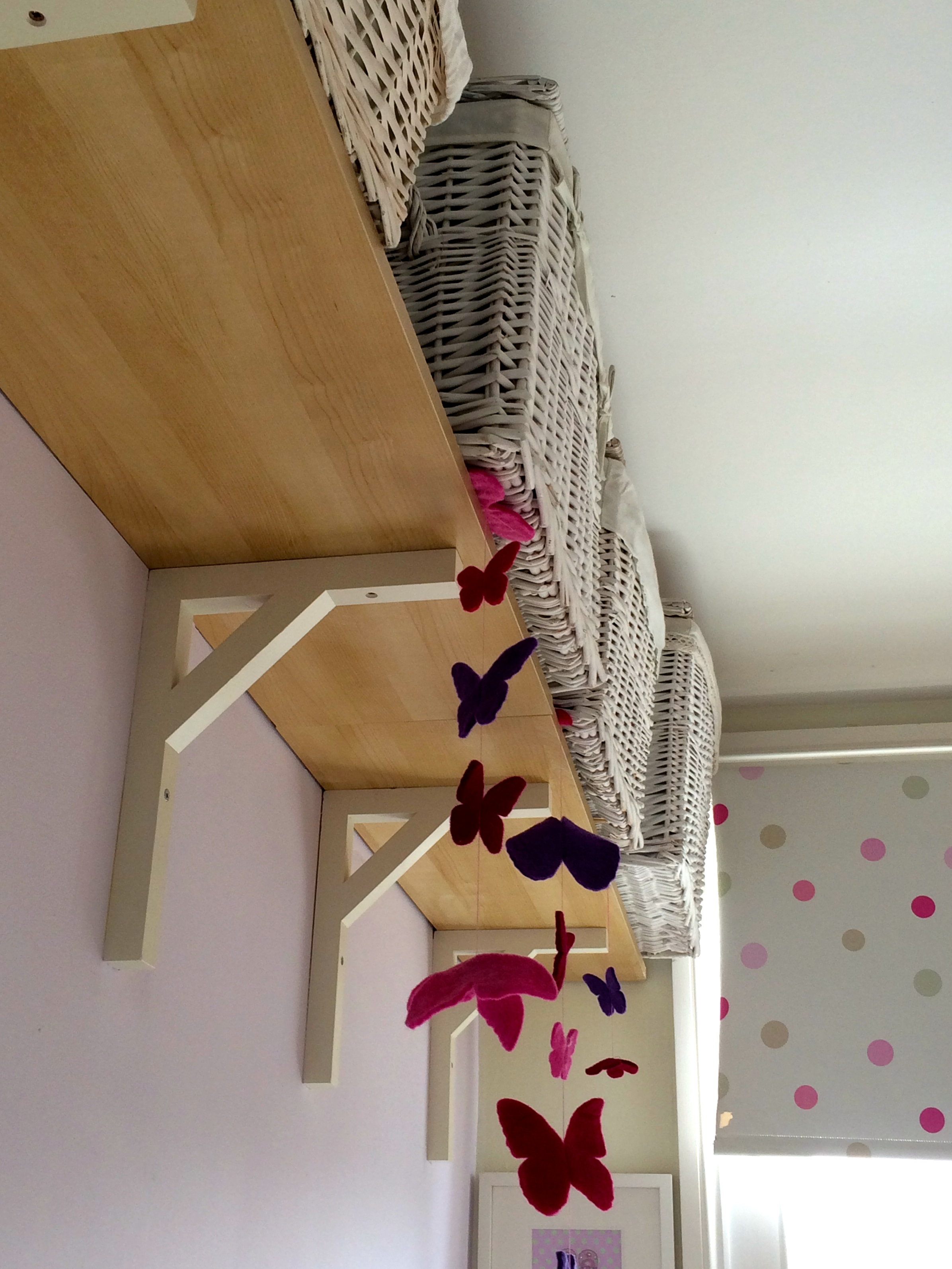 Space saving ideas for a box room nursery New Mumblings