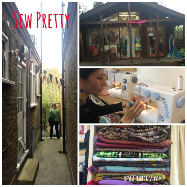 Sew Pretty sewing courses
