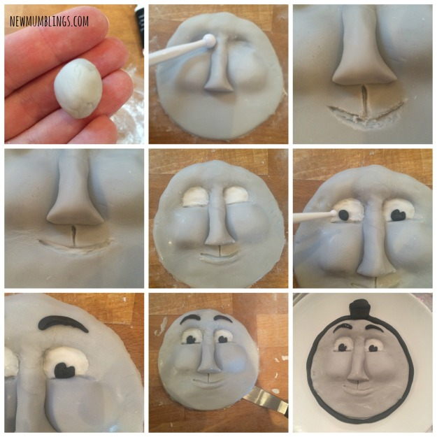 Gordon fondant face