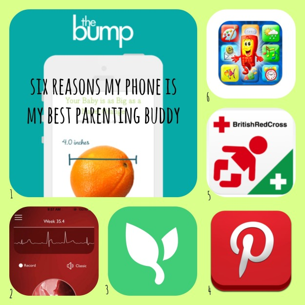 Phone apps for parenting